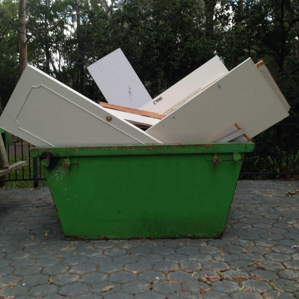 Sydney Skip Bin with Hungry Boards