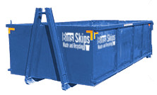 skip hire Adelaide - 12m hook-lift bin