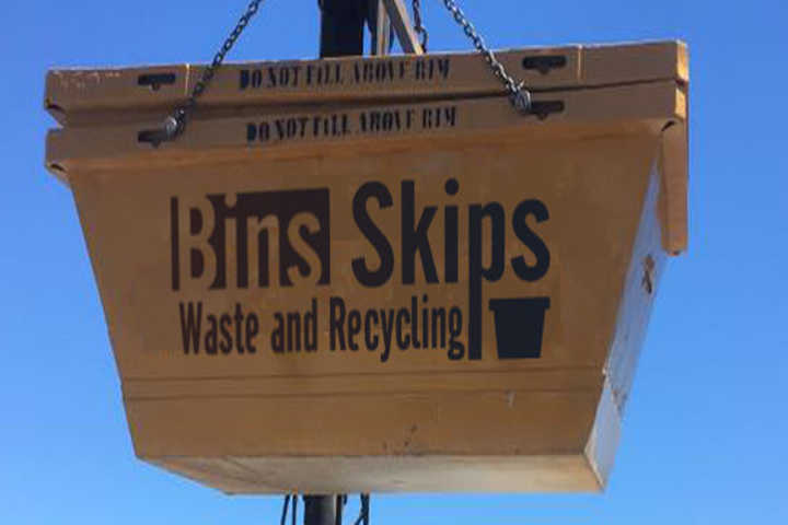 Stanhope Gardens Skip Bins can be delivered by crane lift so 2m³ and 3m³ bkip bins can be placed over walls and fences.
