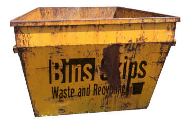 3.0m³ Skip Bins come in different shapes, this is the taller, shorter style