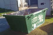 3.0m³ Skip Bins come in different shapes, this is the longer, lower style
