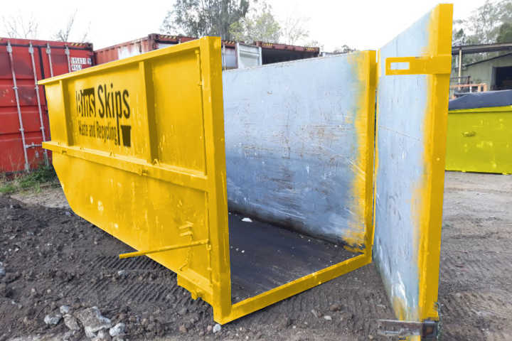 You could almost live in a 12m Marrell skip bin