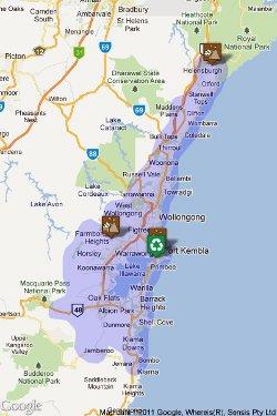Skip Bin Destinations - Wollongong Landfill and recycling facilities