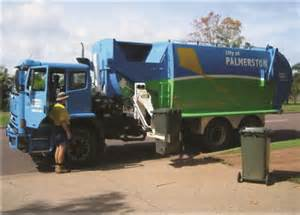 Pamerston Council delivers residential bins not skip bins