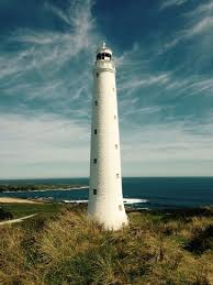 Skip Hire in King Island under lighthouse watch