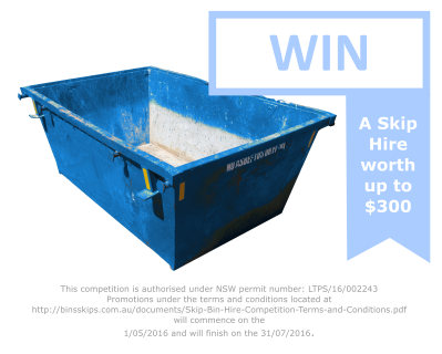 Win A Skip Hire worth $300