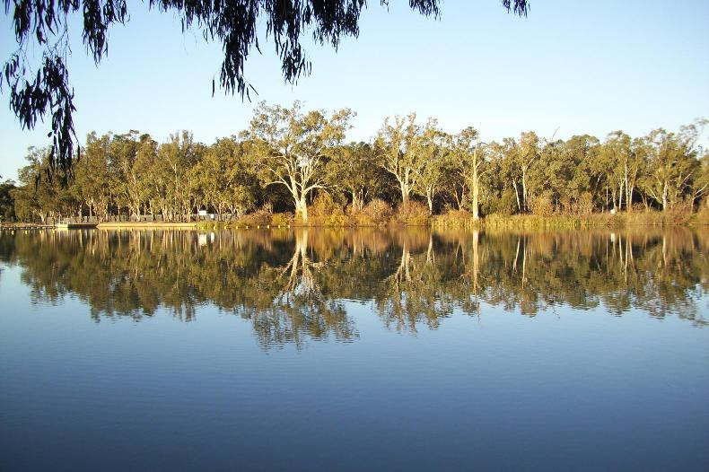 Swan Hill on the Banks of the Murray has skip bins available