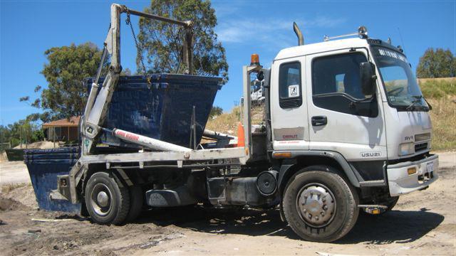 Parramatta Skips bins Awaiting Delivery