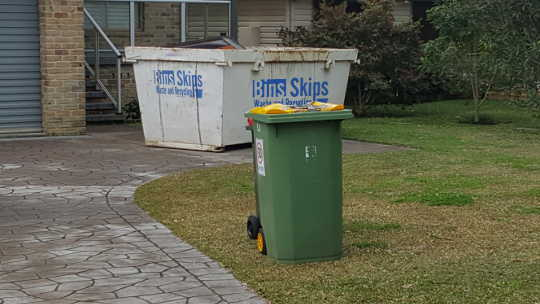 Wyong Skip Bins delivers to The Entrance, Ourimbah Berkeley Vale, Chittaway and Budgewoi