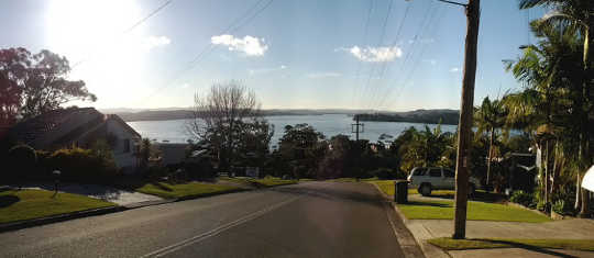 Skip Bins can be placed on the nature strip around Lake Macquarie without restriction.