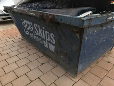 Wollongong Skip Bin Ready to go in Corrimal