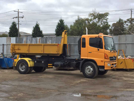 Hook-Lift Truck Bound for Preston