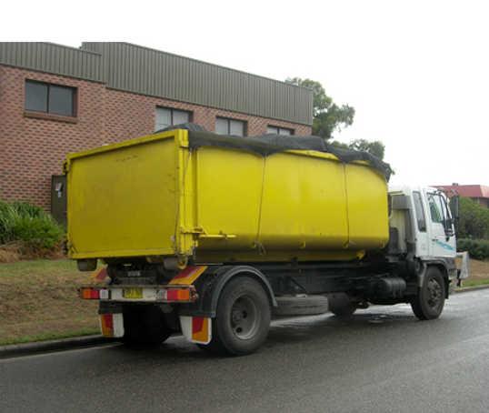 Hook Lift Skip Bin Truck in Ringwood (Maroondah council area)