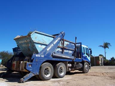 Brisbane Skip Bin Truck