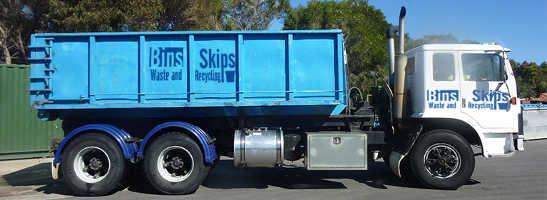 Port Adelaid Skip Bin delivered to Enfield