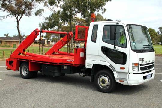 Wanneroo Skip Bin Truck for Chain Lift Marrell Skip Bins