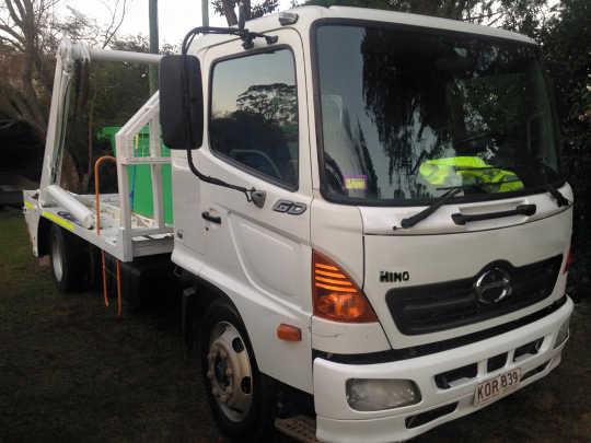 Swan Skip Bin Truck in Padbury