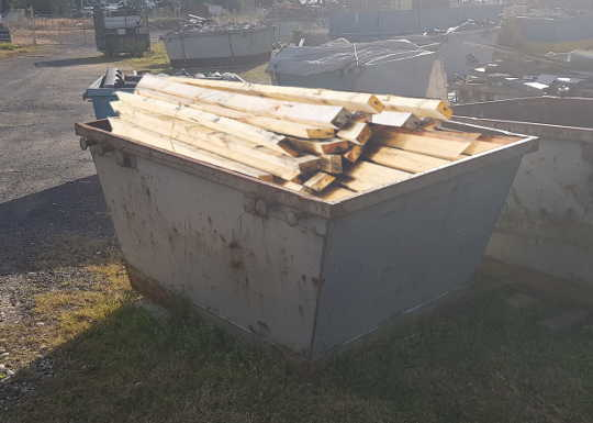 Timber Skip Bins are for Timber Only