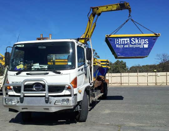 Sydney Hiab Skip Bin Truck