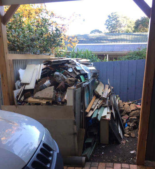 A Skip Bin is the Secret to Removing the Pile of Rubbish