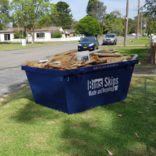 3 cubic meter skip bin